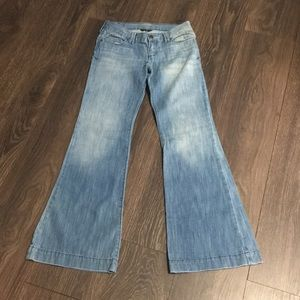 Abercrombie Light Wash Flare Jeans
